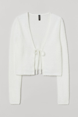 H&M Short Cardigan - White