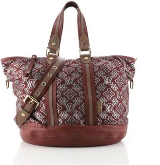 Louis Vuitton Aviator Handbag Limited Edition Monogram Jacquard