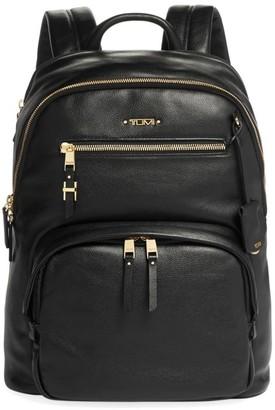 Tumi Voyageur Hilden Leather Backpack