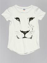 Junk Food Clothing Toddler Girls Lion Face Tee-sugar-2t