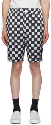 Stolen Girlfriends Club Black and White Cross Town Shorts