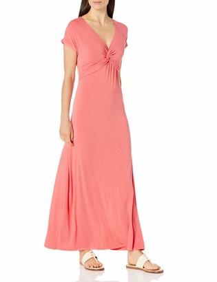 Amazon Essentials Women's Standard Twist Front Maxi Dress