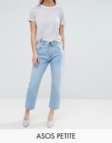 Asos FLORENCE Authentic Straight Leg Jeans in Cambridge Light Mid Wash