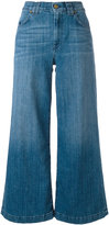 7 For All Mankind cropped wide-leg jeans - women - Cotton/Spandex/Elastane - 25