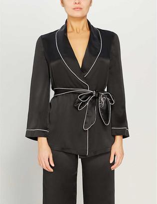 Agent Provocateur Classic silk pyjama top