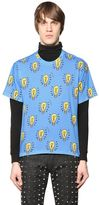 Au Jour Le Jour Light Bulb Printed Cotton T-Shirt