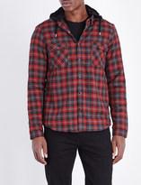 The Kooples Faux-fur lining cotton shirt