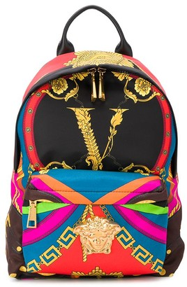 Versace Medusa detail backpack