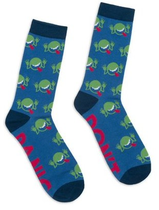 Out of Print Hitchhikers GD Socks Small (Other)