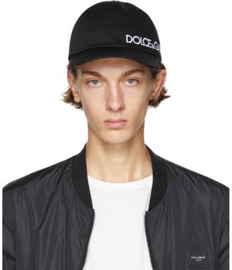 Dolce & Gabbana Black DNA Baseball Cap