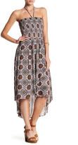Bobeau Smocked Hi-Lo Sun Dress