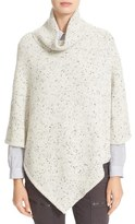 Joie Haesel C Nep Wool Blend Poncho Sweater (Nordstrom Exclusive)