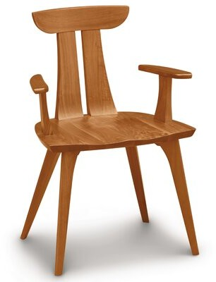 Thumbnail for your product : Copeland Furniture Estelle Solid Wood Dining Chair Color: Natural Cherry