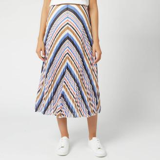 BOSS Women's Bareny Midi Skirt