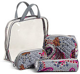 Vera Bradley Iconic 4-Piece Cosmetic Set
