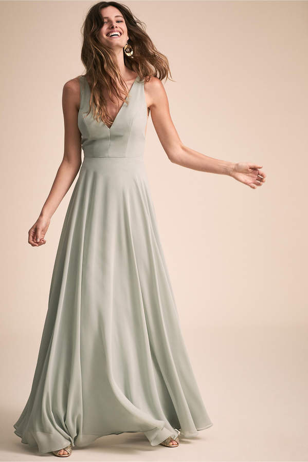4d0e3b86fd5 Jenny Yoo Beige A Line Dresses - ShopStyle