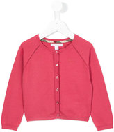 Burberry round neck cardigan - kids - Cotton - 6 yrs