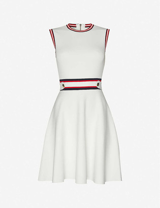Ted Baker Sleeveless stretch-knitted mini skater dress
