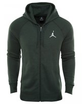 Jordan 823064-327 Flight Men's Hoodie Abyss Fleece Full Zip