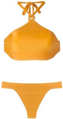ESC Sun bikini cropped top bikini set