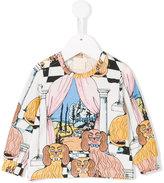 Mini Rodini multi-print sweater