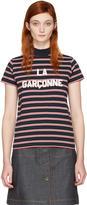 Harmony Navy Striped la Garçonne T-shirt