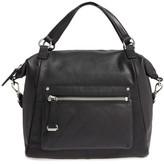 Frye Natalie Moto Leather Shoulder Bag