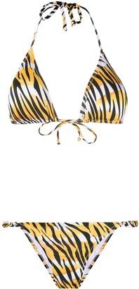 Reina Olga Tiger Print Bikini