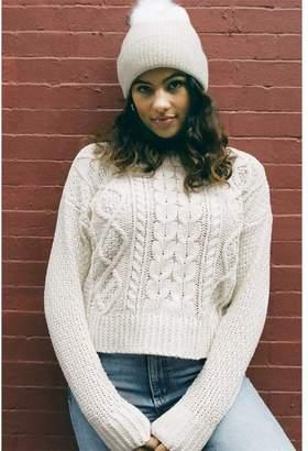 Garage Chenille Crew Neck Sweater