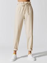 Carbon38 Stretch Woven Drawstring Pant