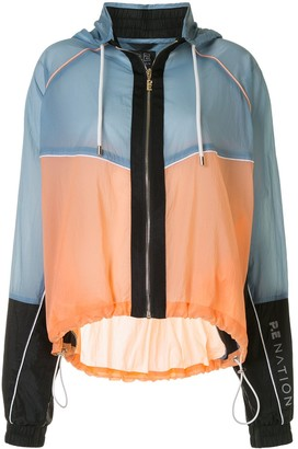 P.E Nation Aerial Drop panelled jacket