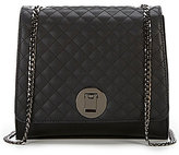 Gianni Bini Mix-and-Match Quilted & Dotted Chain Cross-Body Bag