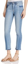 Paige Taylor Contrast-Denim Jeans - 100% Exclusive