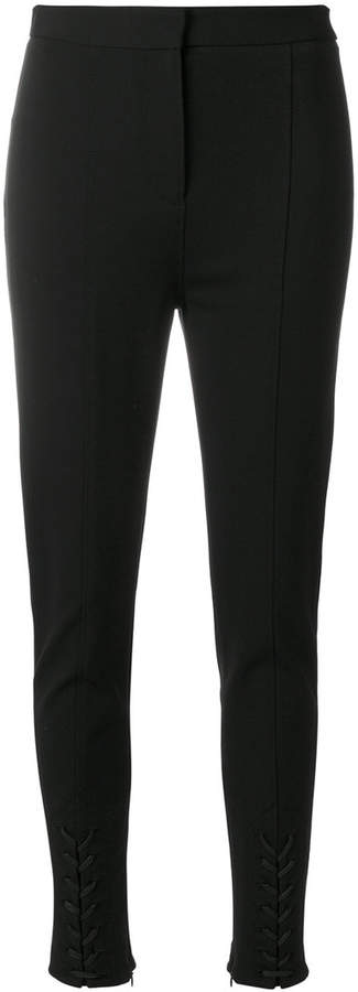 Altuzarra lace-up detail trousers