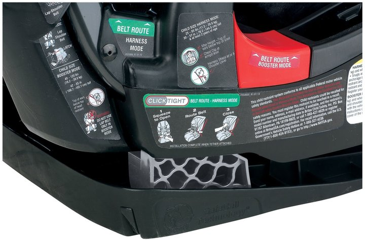 Britax Frontier Combination Harness-2-Booster Car Seat - Zebra