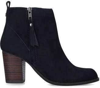 Carvela Suede Tanga Boots 80