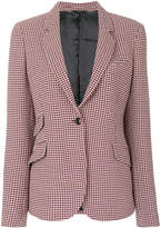 Paul Smith houndstooth pattern blazer