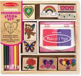 Melissa & Doug Kids Toys, Friendship Block Stamp Set
