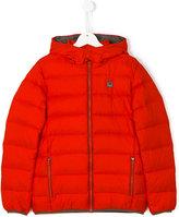 Armani Junior Teen classic padded jacket