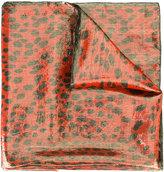 Roberto Cavalli animal print scarf - women - Silk/Polyester - One Size
