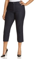 NYDJ Marilyn Capri Jeans in Dark Enzyme