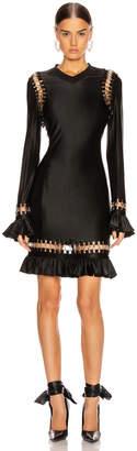 Burberry Ring Frill Dress in Black | FWRD