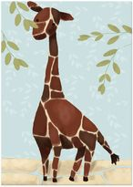 Oopsy Daisy Fine Art For Kids Gillespie the Giraffe Canvas Wall Art