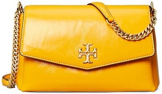 Tory Burch Small Kira Patent Leather Shoulder Bag