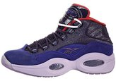 Reebok Question Mid Basketball Shoes -Purple/Oasis-Red (Mens) - 11