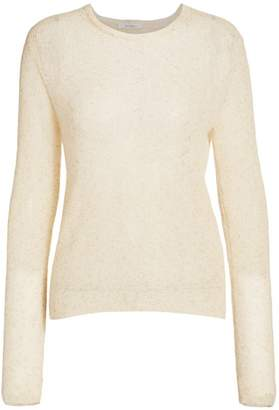 Max Mara Teheran Cloud Knit Mohair-Blend Sweater