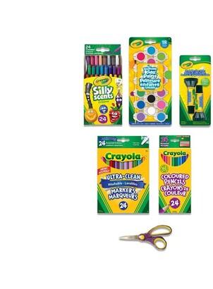 Crayola Art Tools Kit Grade 4