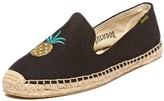 Sole Society Smoking Slipper Embroidery Embroidered Espadrille
