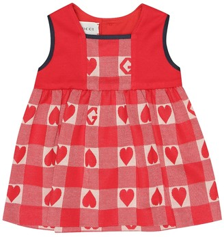 Gucci Kids Baby cotton-jersey dress