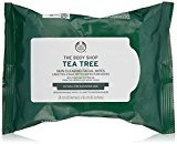 The Body Shop Tea Tree Cleansing Wipes, 25 wipes (Packaging May Vary)